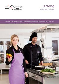 catalogus Exner horeca & service kleding