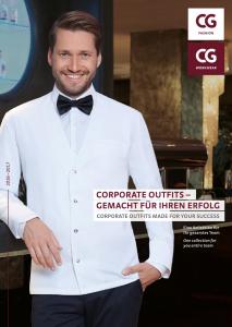 CG horeca kleding catalogus
